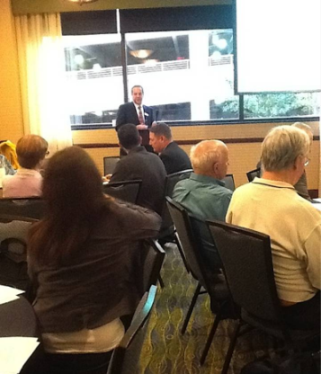 Alan Gould at 2012 Update Meeting